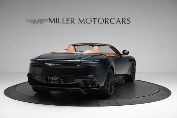 New 2021 Aston Martin DBS Superleggera Volante for sale $392,916 at Maserati of Greenwich in Greenwich CT 06830 6