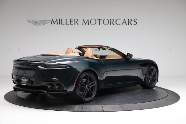 New 2021 Aston Martin DBS Superleggera Volante for sale $392,916 at Maserati of Greenwich in Greenwich CT 06830 7