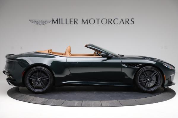 New 2021 Aston Martin DBS Superleggera Volante for sale $392,916 at Maserati of Greenwich in Greenwich CT 06830 8