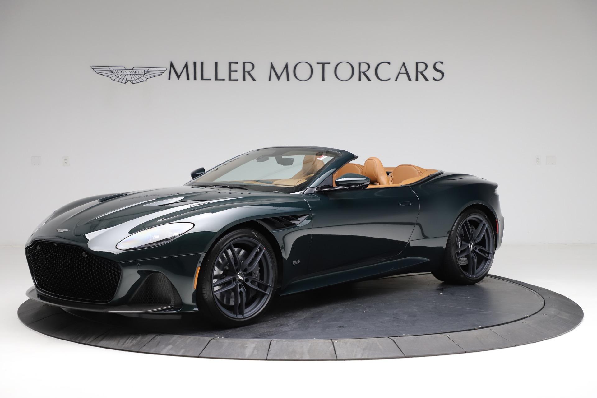 New 2021 Aston Martin DBS Superleggera Volante for sale $392,916 at Maserati of Greenwich in Greenwich CT 06830 1