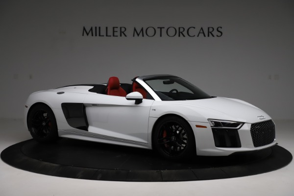 Used 2018 Audi R8 Spyder for sale $154,900 at Maserati of Greenwich in Greenwich CT 06830 10