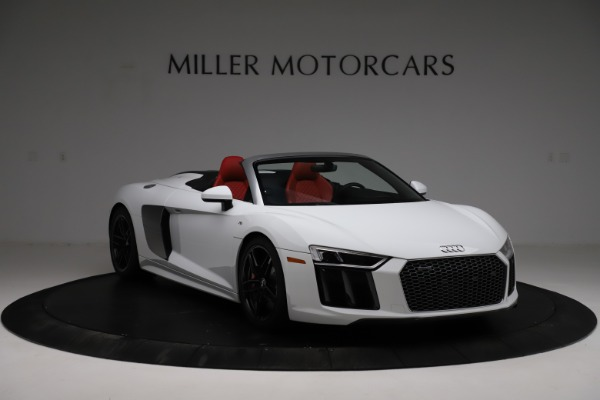Used 2018 Audi R8 Spyder for sale $154,900 at Maserati of Greenwich in Greenwich CT 06830 11
