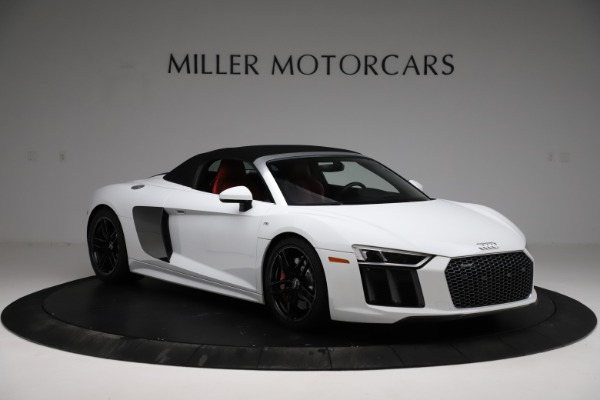 Used 2018 Audi R8 Spyder for sale $154,900 at Maserati of Greenwich in Greenwich CT 06830 14