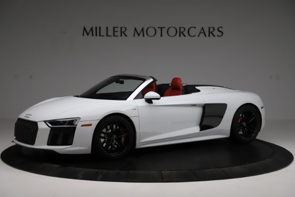 Used 2018 Audi R8 Spyder for sale $154,900 at Maserati of Greenwich in Greenwich CT 06830 2