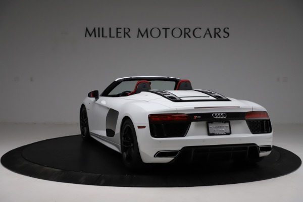 Used 2018 Audi R8 Spyder for sale $154,900 at Maserati of Greenwich in Greenwich CT 06830 5