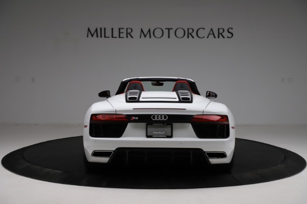 Used 2018 Audi R8 Spyder for sale $154,900 at Maserati of Greenwich in Greenwich CT 06830 6