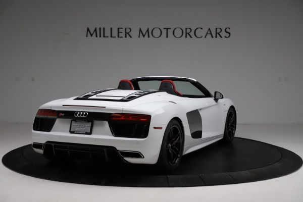 Used 2018 Audi R8 Spyder for sale $154,900 at Maserati of Greenwich in Greenwich CT 06830 7