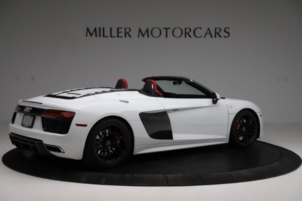 Used 2018 Audi R8 Spyder for sale $154,900 at Maserati of Greenwich in Greenwich CT 06830 8