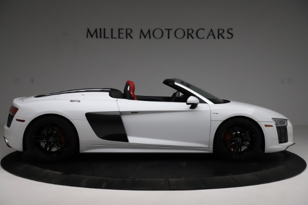 Used 2018 Audi R8 Spyder for sale $154,900 at Maserati of Greenwich in Greenwich CT 06830 9