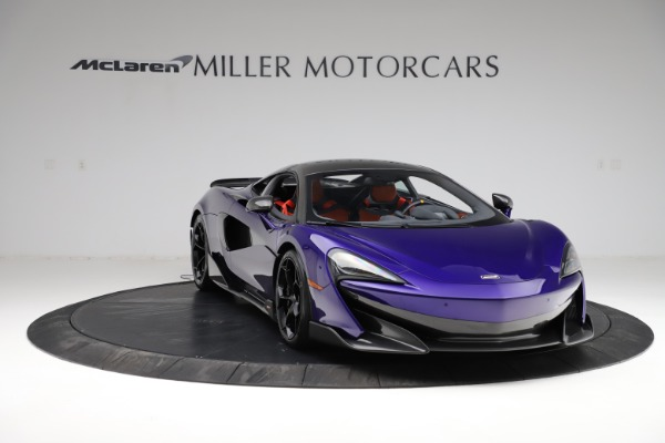 Used 2019 McLaren 600LT for sale $234,900 at Maserati of Greenwich in Greenwich CT 06830 10