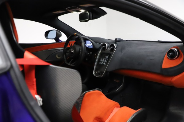 Used 2019 McLaren 600LT for sale $234,900 at Maserati of Greenwich in Greenwich CT 06830 19