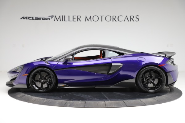 Used 2019 McLaren 600LT for sale $234,900 at Maserati of Greenwich in Greenwich CT 06830 2