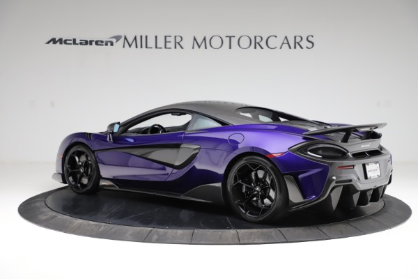 Used 2019 McLaren 600LT for sale $234,900 at Maserati of Greenwich in Greenwich CT 06830 3