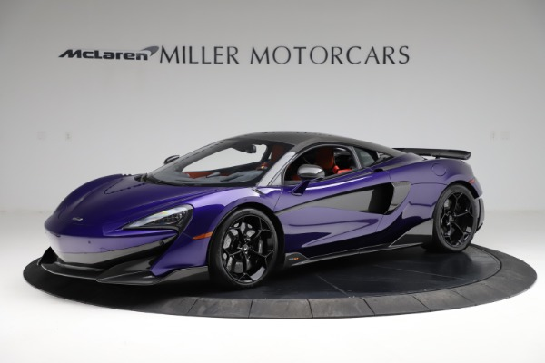 Used 2019 McLaren 600LT for sale $234,900 at Maserati of Greenwich in Greenwich CT 06830 1