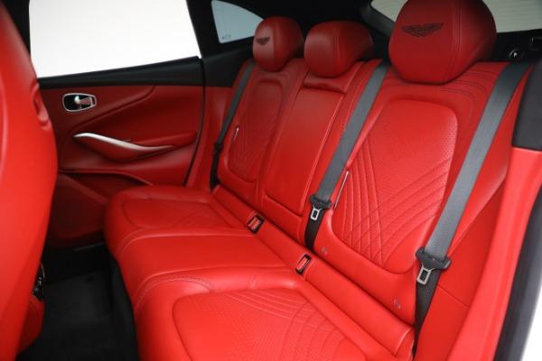 New 2021 Aston Martin DBX for sale $210,386 at Maserati of Greenwich in Greenwich CT 06830 22