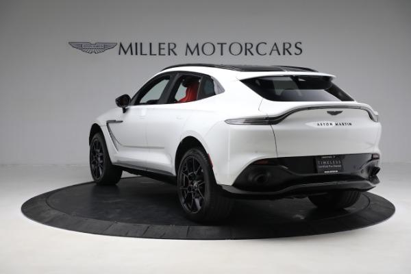 New 2021 Aston Martin DBX for sale $210,386 at Maserati of Greenwich in Greenwich CT 06830 4