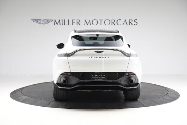 New 2021 Aston Martin DBX for sale $210,386 at Maserati of Greenwich in Greenwich CT 06830 5