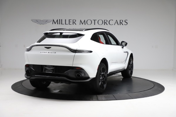 New 2021 Aston Martin DBX for sale $210,386 at Maserati of Greenwich in Greenwich CT 06830 6