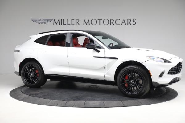 New 2021 Aston Martin DBX for sale $210,386 at Maserati of Greenwich in Greenwich CT 06830 9