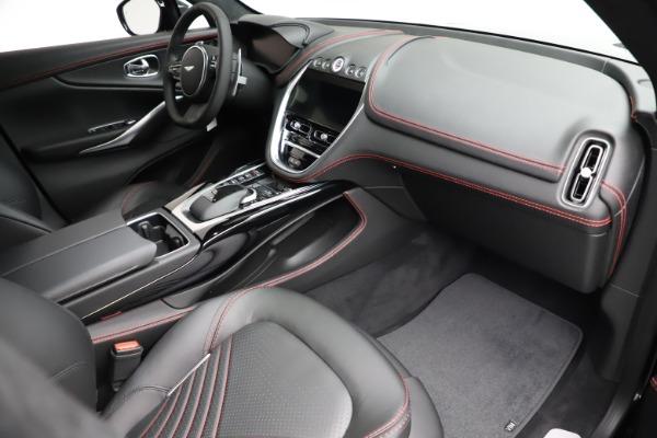 New 2021 Aston Martin DBX for sale $206,286 at Maserati of Greenwich in Greenwich CT 06830 19