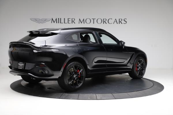 New 2021 Aston Martin DBX for sale $206,286 at Maserati of Greenwich in Greenwich CT 06830 7