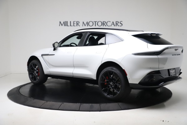 New 2021 Aston Martin DBX for sale $206,286 at Maserati of Greenwich in Greenwich CT 06830 3