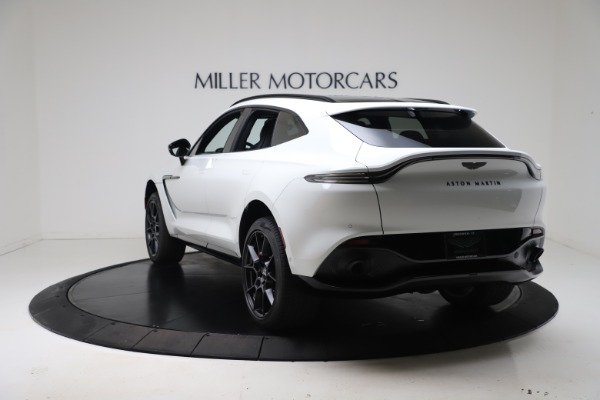 New 2021 Aston Martin DBX for sale $206,286 at Maserati of Greenwich in Greenwich CT 06830 4