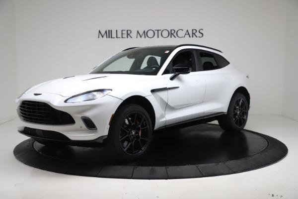 New 2021 Aston Martin DBX for sale $206,286 at Maserati of Greenwich in Greenwich CT 06830 1