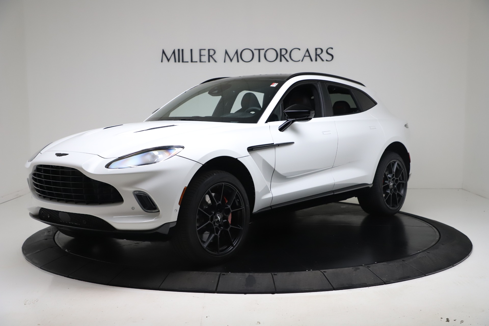 New 2021 Aston Martin DBX for sale $206,286 at Maserati of Greenwich in Greenwich CT 06830 1