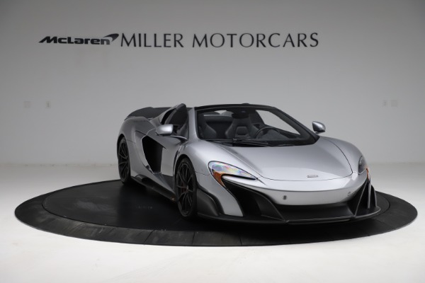 Used 2016 McLaren 675LT Spider for sale $275,900 at Maserati of Greenwich in Greenwich CT 06830 10