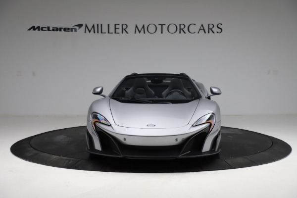 Used 2016 McLaren 675LT Spider for sale $275,900 at Maserati of Greenwich in Greenwich CT 06830 11