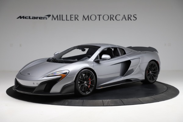 Used 2016 McLaren 675LT Spider for sale $275,900 at Maserati of Greenwich in Greenwich CT 06830 14