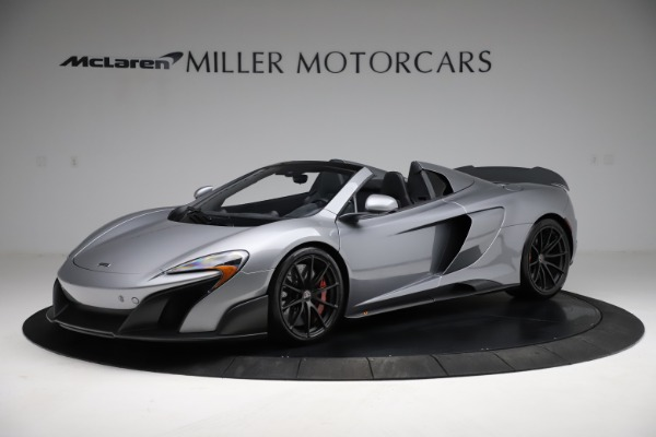 Used 2016 McLaren 675LT Spider for sale $275,900 at Maserati of Greenwich in Greenwich CT 06830 1