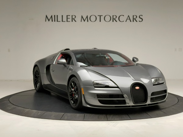 Used 2013 Bugatti Veyron 16.4 Grand Sport Vitesse for sale Call for price at Maserati of Greenwich in Greenwich CT 06830 19