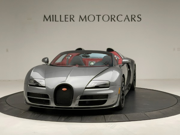 Used 2013 Bugatti Veyron 16.4 Grand Sport Vitesse for sale Call for price at Maserati of Greenwich in Greenwich CT 06830 2