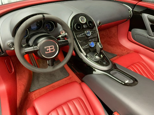 Used 2013 Bugatti Veyron 16.4 Grand Sport Vitesse for sale Call for price at Maserati of Greenwich in Greenwich CT 06830 20