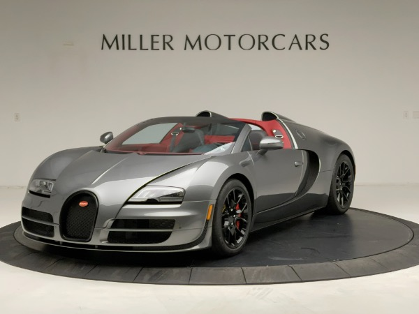 Used 2013 Bugatti Veyron 16.4 Grand Sport Vitesse for sale Call for price at Maserati of Greenwich in Greenwich CT 06830 1