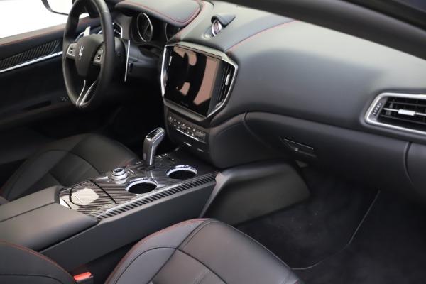 New 2021 Maserati Ghibli S Q4 GranSport for sale $100,285 at Maserati of Greenwich in Greenwich CT 06830 22