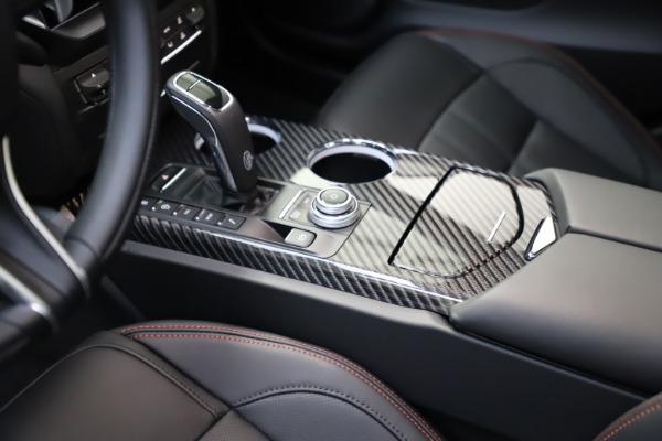 New 2021 Maserati Ghibli S Q4 GranSport for sale $100,285 at Maserati of Greenwich in Greenwich CT 06830 26