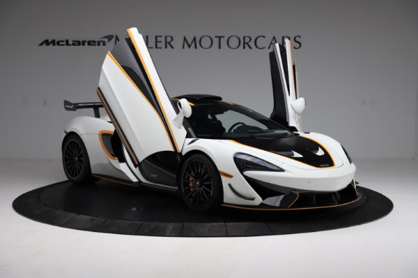 New 2020 McLaren 620R for sale $312,605 at Maserati of Greenwich in Greenwich CT 06830 15