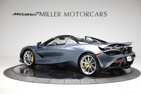 New 2021 McLaren 720S Spider for sale $351,450 at Maserati of Greenwich in Greenwich CT 06830 3
