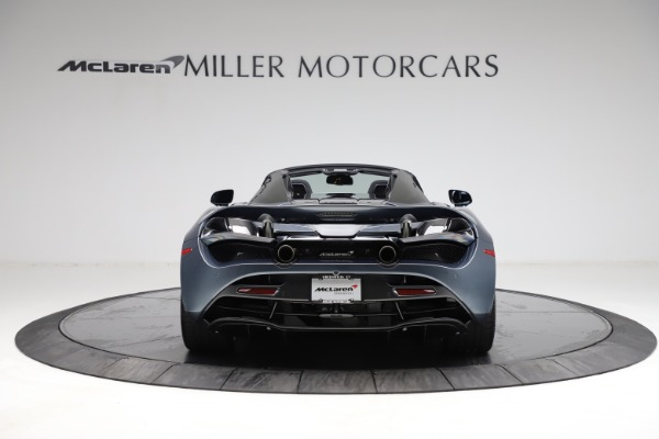 New 2021 McLaren 720S Spider for sale $351,450 at Maserati of Greenwich in Greenwich CT 06830 5