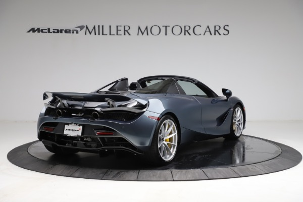 New 2021 McLaren 720S Spider for sale $351,450 at Maserati of Greenwich in Greenwich CT 06830 6
