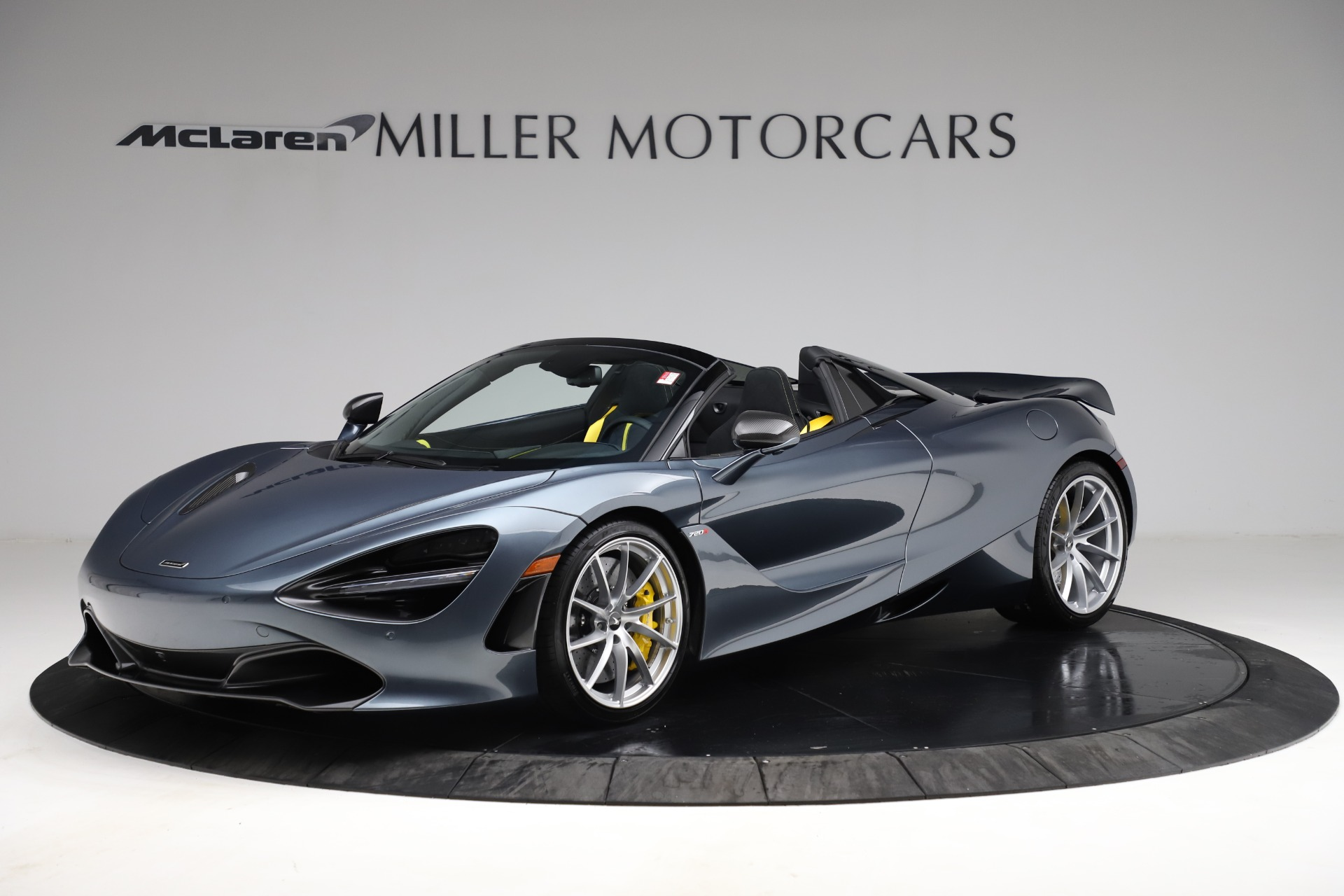 New 2021 McLaren 720S Spider for sale $351,450 at Maserati of Greenwich in Greenwich CT 06830 1