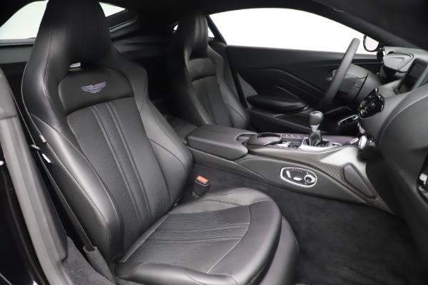 New 2021 Aston Martin Vantage for sale $178,986 at Maserati of Greenwich in Greenwich CT 06830 21