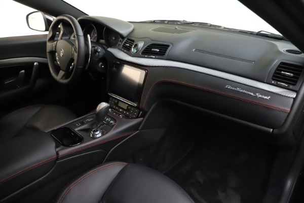 Used 2018 Maserati GranTurismo Sport for sale $99,900 at Maserati of Greenwich in Greenwich CT 06830 18