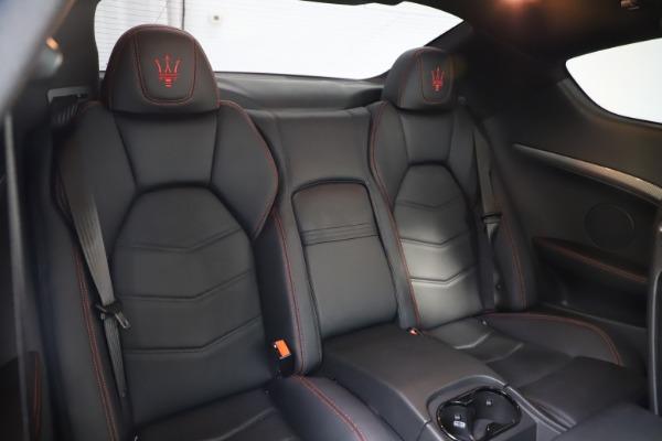 Used 2018 Maserati GranTurismo Sport for sale $99,900 at Maserati of Greenwich in Greenwich CT 06830 22