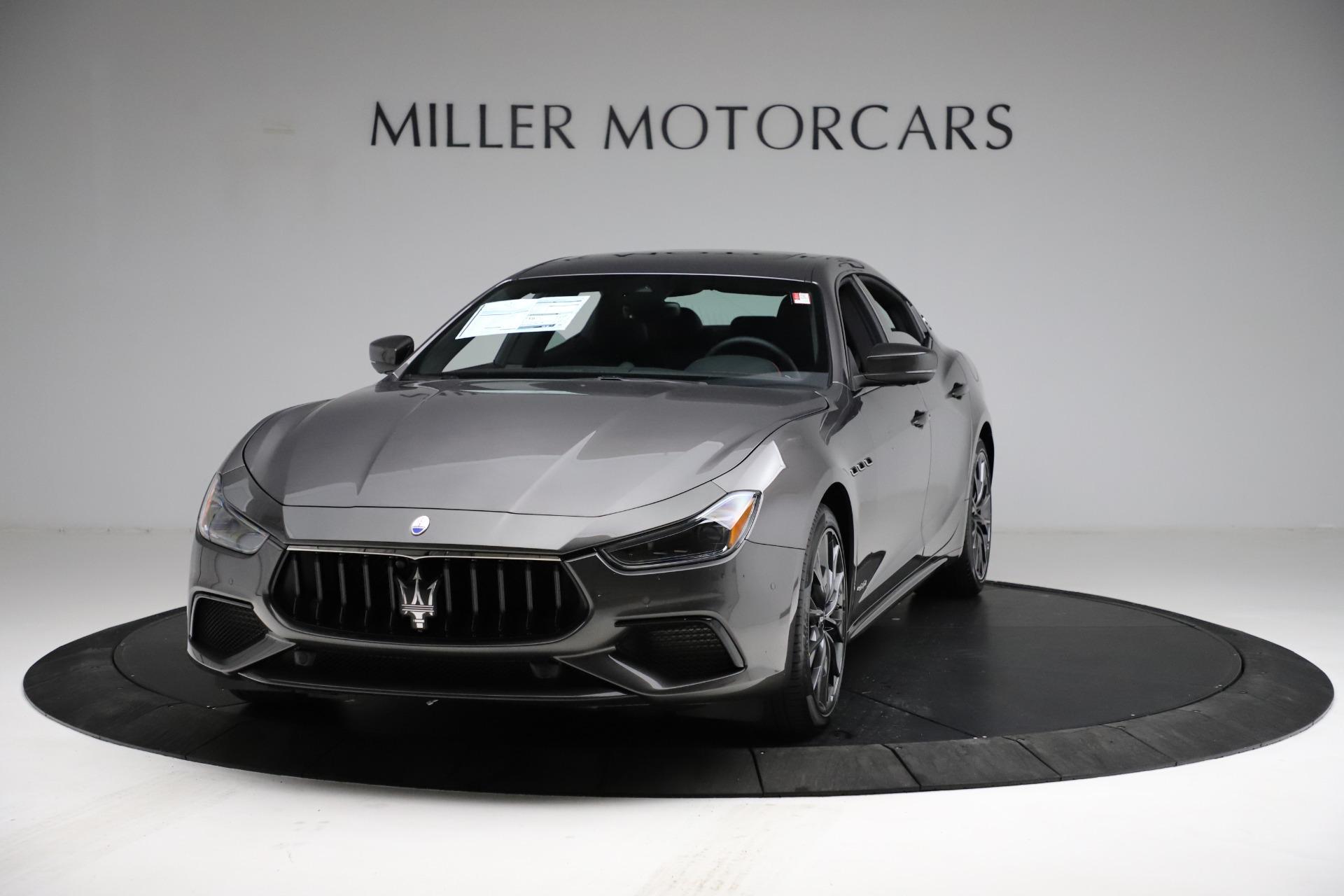 New 2021 Maserati Ghibli S Q4 GranSport for sale $100,285 at Maserati of Greenwich in Greenwich CT 06830 1