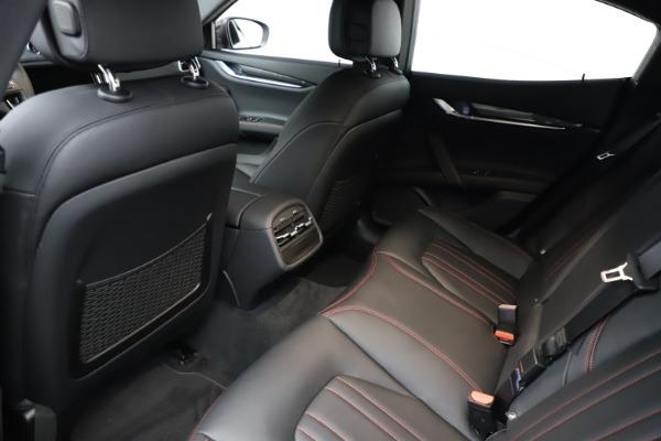 New 2021 Maserati Ghibli S Q4 for sale $86,654 at Maserati of Greenwich in Greenwich CT 06830 17
