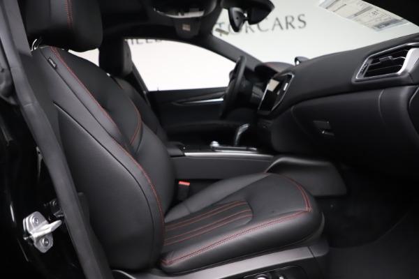 New 2021 Maserati Ghibli S Q4 for sale $86,654 at Maserati of Greenwich in Greenwich CT 06830 21